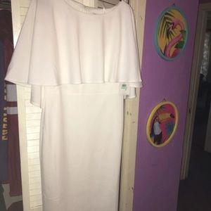 NWT White Calvin Klein Dress Size 8